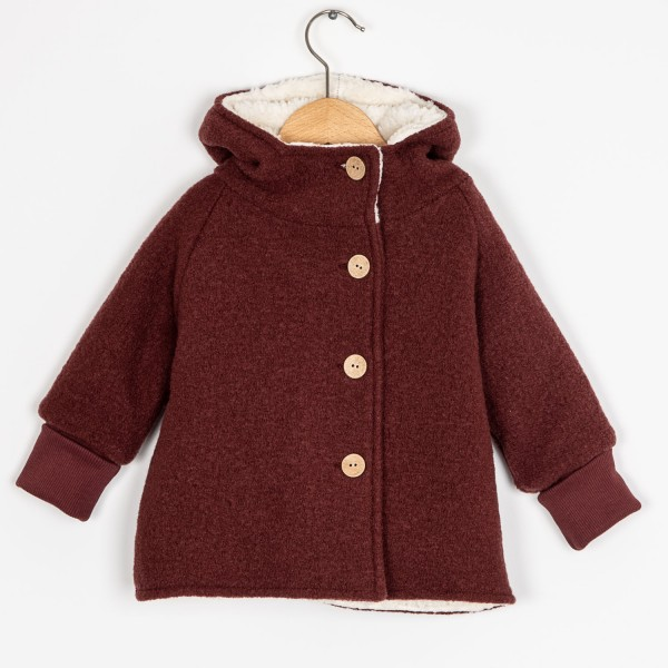 Wichteljacke Wollwalk Teddy School Kids